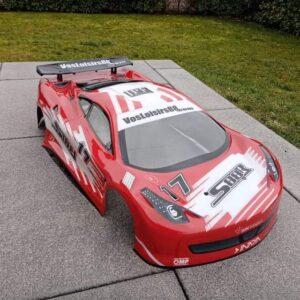 SR 88 Karosserie GT 510 (ähnlich Ferrari 458)